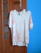 dwucześciowa bluzka top plus oversize