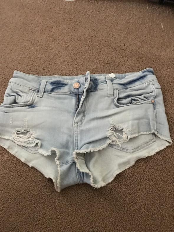 Spodenki Zara jasny jeans