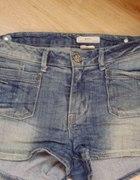 Szorty spodenki dżinsowe 36 new HM krótkie