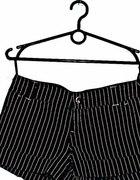 Bershka spodenki w prążki retro vintage glam goth