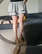 spódnica falbanki kieszonki