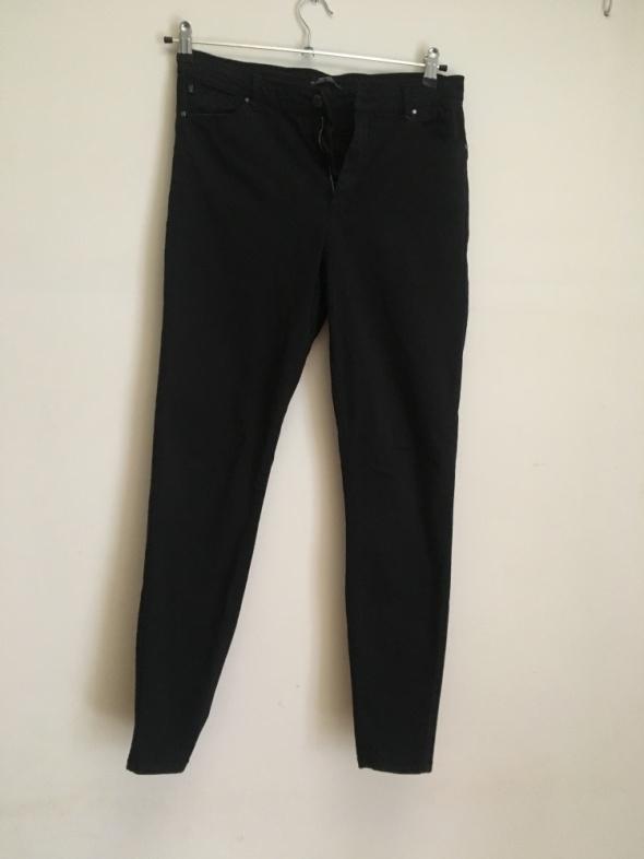 Spodnie Czarne rurki