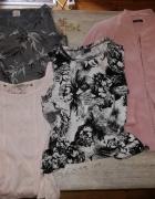 3 koszulki i żakiet