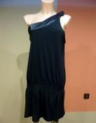 Duża sukienka tunika rozm 46