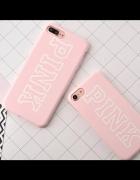 Różowe etui na iPhona 7 Victorias Secret PINK