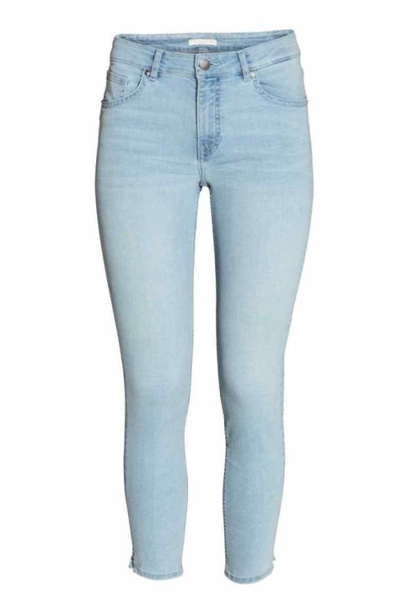 Spodnie Spodnie H&M elastyczne jeansy