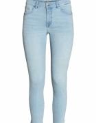 Spodnie H&M elastyczne jeansy