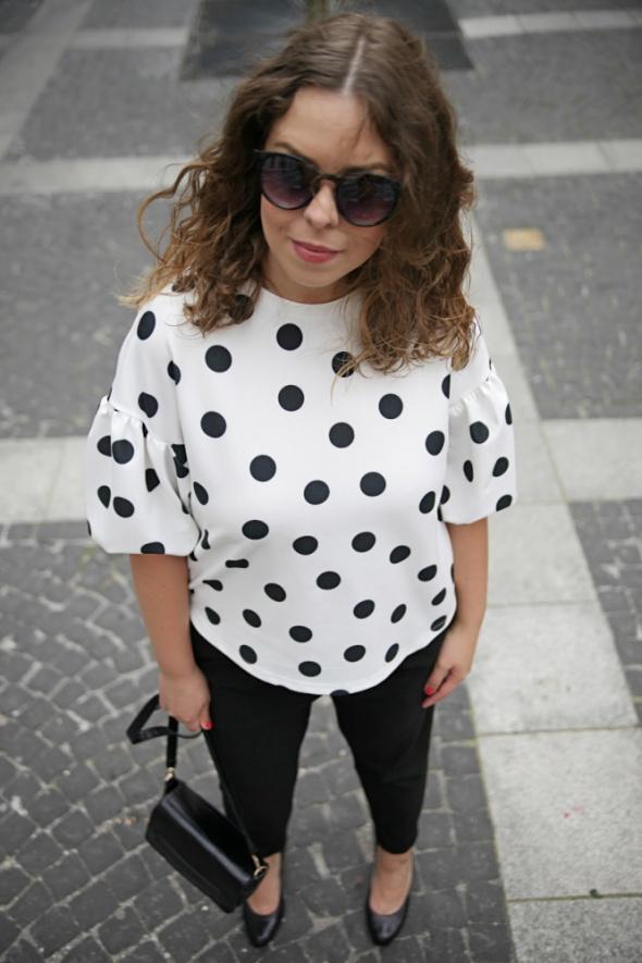 Blogerek polka dots