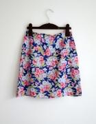 Śliczna spódniczka w kwiaty vintage...
