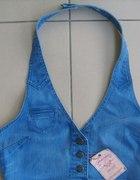 Piękna kamizelka jeansowa Wrangler rozmiar XL