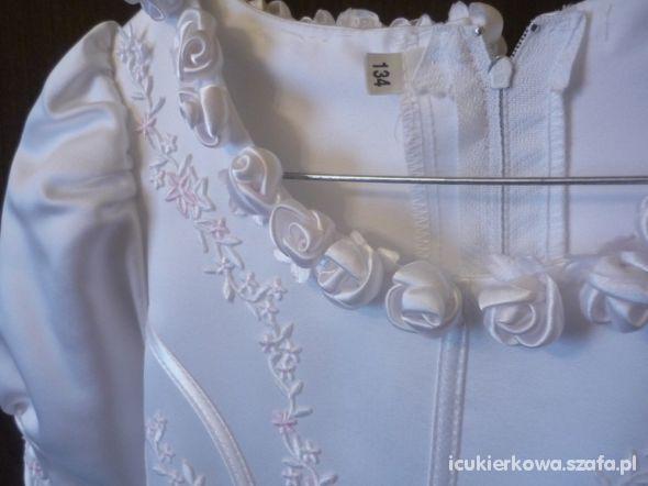KOMUNIA sukienka do komunii 134 OKAZJA