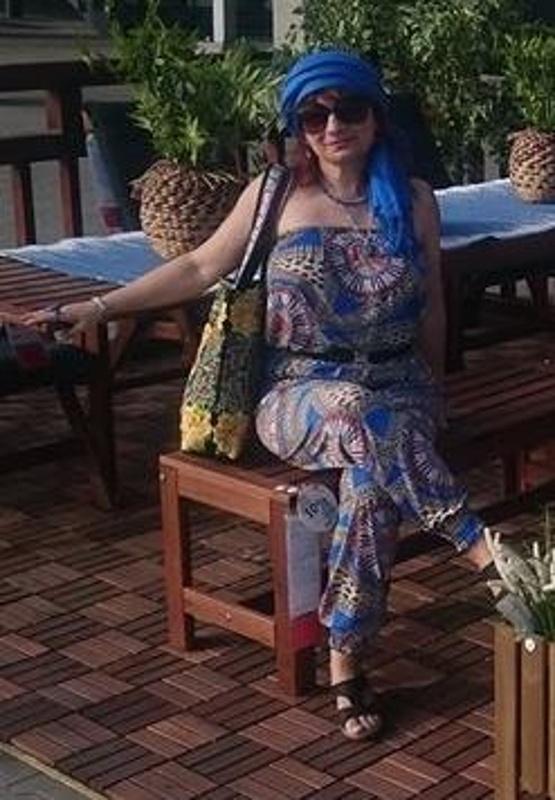 Mój styl W kolorze blue