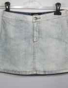 Mini marmurek spódnica ze streachu