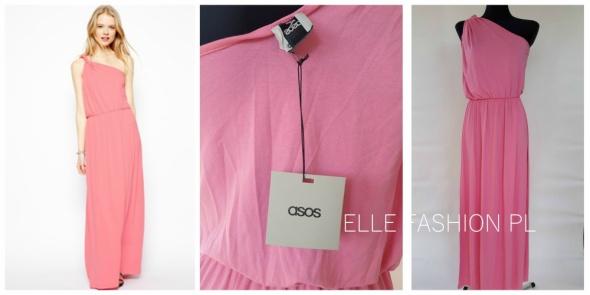 Suknie i sukienki Sukienka ASOS dłuża różowa XS S