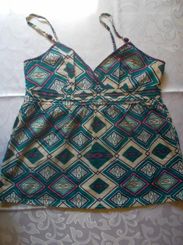 Bluzki bluzka na szelkach w azjatyckie wzory 4446