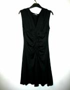 czarna sukienka midi MORGAN 38 M...