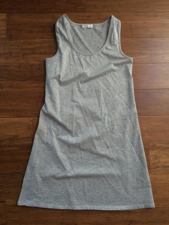 Suknie i sukienki Srebrna sukienka Promod 36