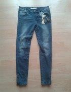 spodnie new yorker rurki zip zamek s m 36 38