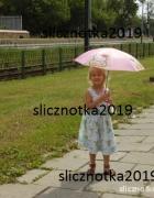 Cherokee 3 4 lata 104cm sukienka miętowa...