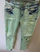 Spodnie skinny rozmiar M...