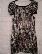 Kolorowa sukienka M