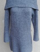Zadbany długi sweterek 46