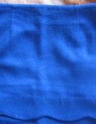 Niebieska zimowa spódnica Reserved S M