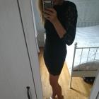 czarna sukienka dopasowana new look