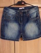 spódnica jeans mini 14