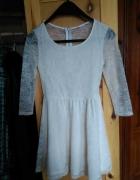 H&M koronkowa sukienka