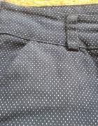 Spódniczka w białe kropki M L