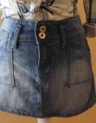 spódnica jeans mini