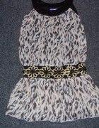 Nowa sukienka w Panterkę rozm uniwersalny