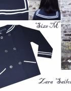 Marynarski sweter Zara Sailor