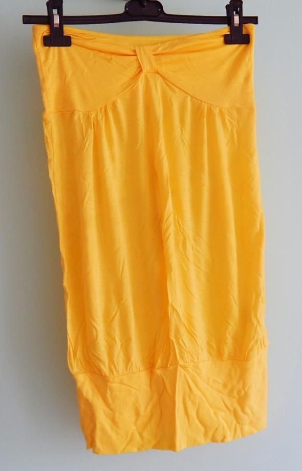 Bluzki Żółta tuba na lato