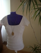 biała koszulka Clockhouse M