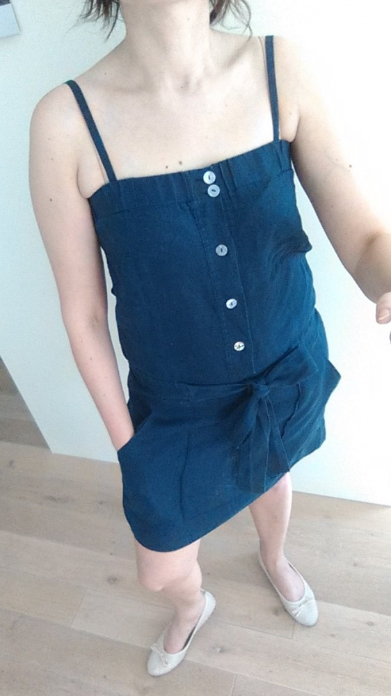 Suknie i sukienki SUKIENKA LNIANA