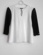 Bluzka MOHITO xs biało czarna