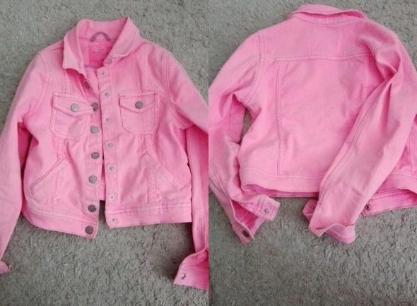 katana kurteczka jeansowa różowa