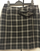 Spódnica w kratę Orsay rozmiar xs