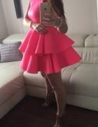 Piankowa sukienka Emo 38...