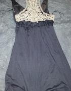 Sukienka śliczna szara