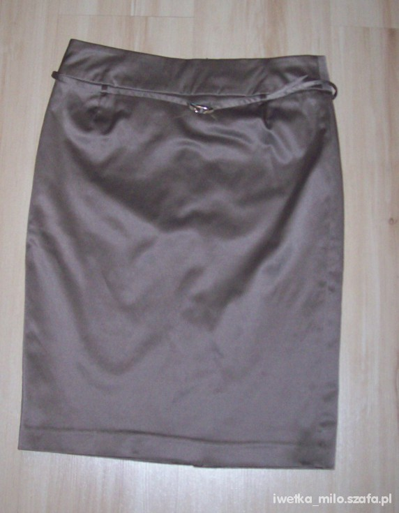 Spódnice spódnica beżowa reserved