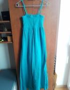 Długa sukienka idealna na lato...