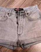 Jeansowe szorty dżinsowe spodenki WYSOKI STAN S...