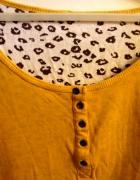 Takko żółta bluzka panterka długi rękaw 38 M...