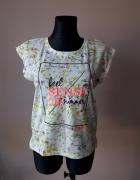 T shirt w kwiaty chillin 40 L