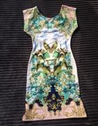 sukienka styl cavali just