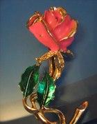 broszka z roza