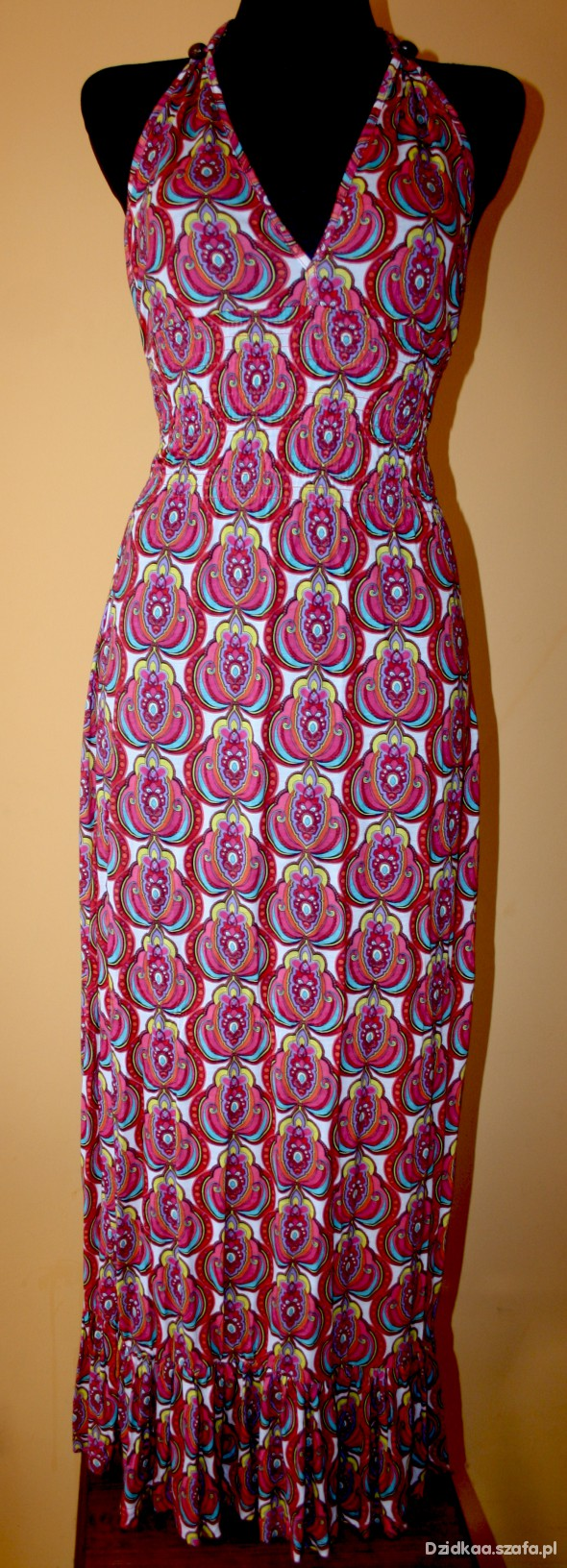 Suknie i sukienki sukienka maxi